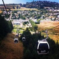 Photo taken at Skyline Rotorua Gondola by George J. on 1/13/2013