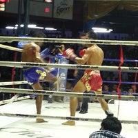 Photo taken at Lumpinee Boxing Stadium by Sergey P. on 5/10/2013