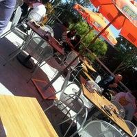 Photo taken at Skool Restaurant by jonathan g. on 6/17/2012