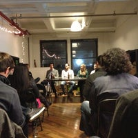 Photo taken at DUMBO Startup Lab by jeremy p. on 1/18/2013