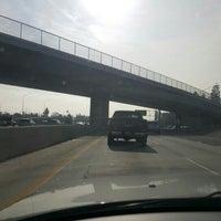 Photo taken at Interstate 5 (Santa Ana Freeway) by Pilar P. on 1/19/2016