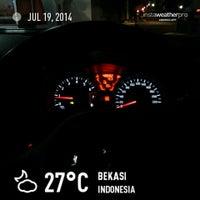 Photo taken at Perumahan Taman Aster by ariadi on 7/19/2014
