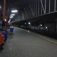 Photo taken at Stasiun Depok Lama by Adhitya A. on 3/29/2013