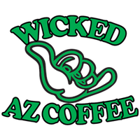 Photo taken at Wicked AZ Coffee - East by Nicholas A. on 4/7/2015