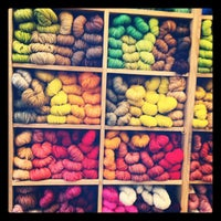 Photo taken at Purl Soho by Clay W. on 10/8/2012