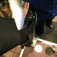 Photo taken at Friends Shoe Repair by Andy B. on 3/19/2013