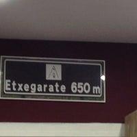 Photo taken at Etxegarate by Rodrigo J. on 10/16/2013