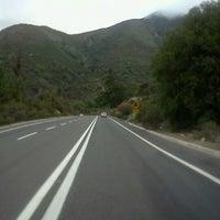 Photo taken at Cumbre Cuesta La Dormida by Sergio R. on 9/27/2012