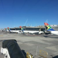 Photo taken at O. R. Tambo International Airport (JNB) by Amin J. on 5/5/2013