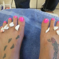 Photo taken at Diva Nails & Spa by Jodie H. on 5/10/2013