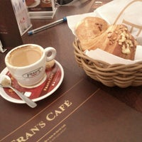 Photo taken at Fran's Café by Eveline A. on 12/24/2012