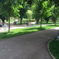 Photo taken at Parcul central by Larissa M. on 6/21/2016
