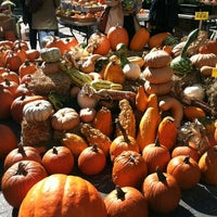 Photo taken at Union Square Greenmarket by Melody F. on 10/13/2012