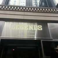 Photo taken at Legends New York by Alfredo H. on 3/23/2013