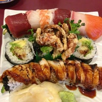 Photo taken at Sushi King by Diane P. on 5/1/2013