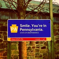 Photo taken at Pennsylvania Welcome Center by David F. on 4/7/2013
