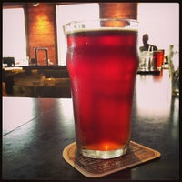 Photo taken at Flat Branch Pub & Brewing by David F. on 6/15/2013