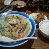 Photo taken at ラーメン神楽 米子店 by Yukio U. on 11/25/2014