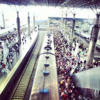 Photo taken at Estação Brás (CPTM) by Max B. on 4/9/2013