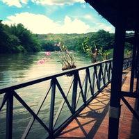 Photo taken at Yoko Resort River Kwai by Varangkanang N. on 5/13/2013
