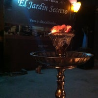 Photo taken at El Jardín Secreto - Lounge Bar by Nikolay A. on 11/30/2012