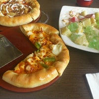 Photo taken at Pizza Hut by Cicil M. on 10/5/2012