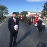 Photo taken at Lefkoşa Tören Alanı by Mustafa I. on 11/15/2016
