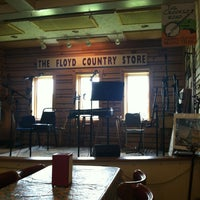 Photo taken at Floyd Country Store by Kati B. on 7/25/2013