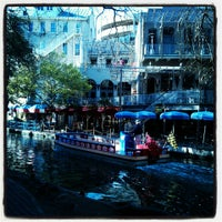 Photo taken at The San Antonio River Walk by Tyler P. on 3/26/2013