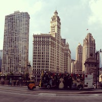 Photo taken at Wrigley Building by Phillip T. on 7/21/2013