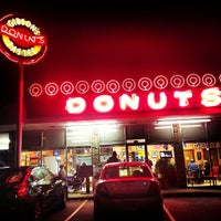 Photo taken at Gibson's Donuts by Olly S. on 11/23/2012