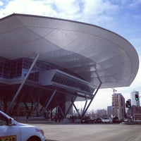 Photo taken at Boston Convention & Exhibition Center by Steve G. on 4/10/2013