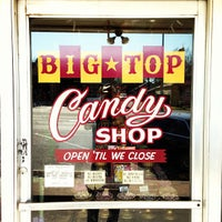 Photo taken at Big Top Candy Shop by Steve G. on 3/13/2013