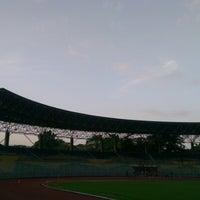Photo taken at Stadium KLFA Cheras by Galvin T. on 1/16/2013