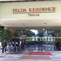 Photo taken at Felda Residence Trolak, Sungkai by Baihaqi H. on 5/7/2016