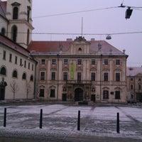 Photo taken at Moravské náměstí by depony💡 on 2/10/2013