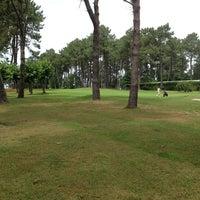 Photo taken at Club de Golf La Toja by Antonio B. on 7/28/2013
