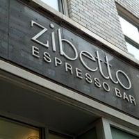 Photo taken at Zibetto Espresso Bar by Alina on 10/29/2012