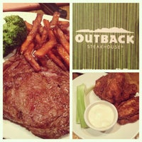 Photo taken at Outback Steakhouse by Amy M. on 3/6/2013