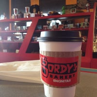 Photo taken at Gordy's Bakery and Coffeehouse by CJ E. on 6/3/2014