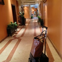 Photo taken at Al Bustan Hotel by Sara ♒. on 3/23/2013