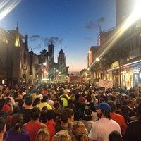 Photo taken at Hollywood Half Marathon & 5k / 10k by Jeffy G. on 4/5/2014