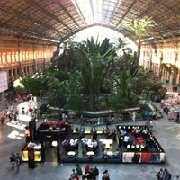 Photo taken at Estación de Madrid-Puerta de Atocha by Vicente S. on 5/23/2013
