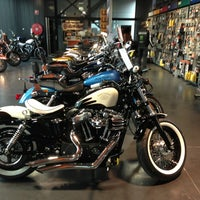 Photo taken at Harley-Davidson Capital Brussels by Mario V. on 3/23/2013