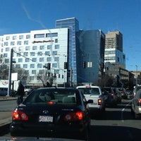 Photo taken at Hampton Inn & Suites Boston Crosstown Ctr by Yasser K. on 12/28/2012