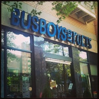 Photo taken at Busboys and Poets by Joy A. on 5/2/2013