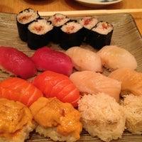 Photo taken at Sushi Yasuda by Elyse on 4/25/2013