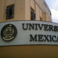 Photo taken at Universidad Mexicana Polanco by Eddie H. on 7/15/2013