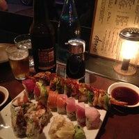 Photo taken at Domo Sushi by Joel O. on 4/10/2013