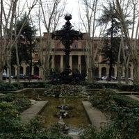 Photo taken at Plaza de la Cruz by Rafa O. on 2/10/2013